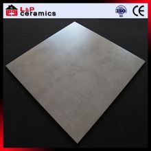 Light grey portland cement acid resistant 24x24 white porcelain tile for outdoor decoration