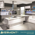 2018 Vermont New 18MM Melamine Kitchen Island Light With Handless Drawer Design