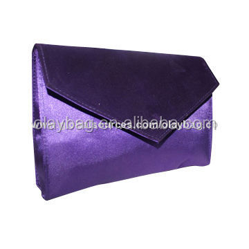 YIwu Silk Bag Cosmetic Bag With BV Audited and L'Oreal Certifications in Solid Color