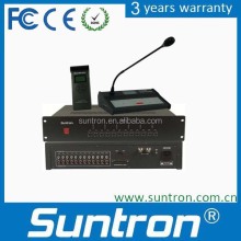 SUNTRON 1+11 Channels Digital Interpreter Console Unit Digital Simultaneous Interpretation System