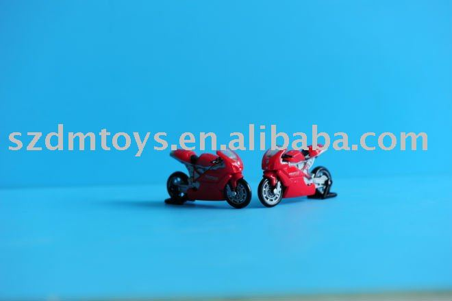 custom plastic racing motorcycle toy model