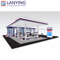 steel structure gas station with free design and best price