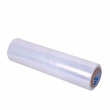 Strong rebound force and moisture proof LLDPE plastic wrapping film