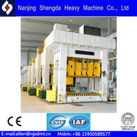 High Efficiency 6300KN Automatic Wood Machine Hot Press