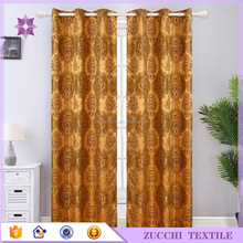 Luxary Curtain Home Textile Modern Design Curtain for Bedroom Curtain Fabric for Factory
