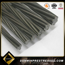 15.2mm pc strand cable stay steel bridge