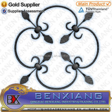 Wrought Iron Components Decorative Gate Inserts for Sale