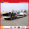 3 Lines 6 Axles Widely Used Low Bed Trailer/120 Tons Heavy Duty Lowboy Semi-Trailer