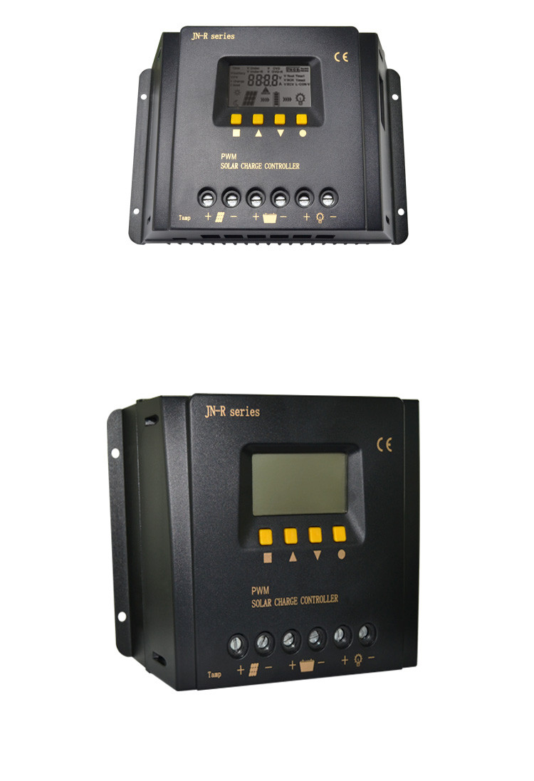 Factory direct sales solar panel controller/solar battery charge controller 30a 40a 50a 60a 12v 24v 48v auto