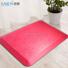 Comfort stand self-skin PU foam decorative kitchen floor mats