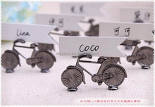 "Wedding and Party Decoration Favor of ""Le Tour"" Bicycle Place Card/Photo Holder Wedding Favor"