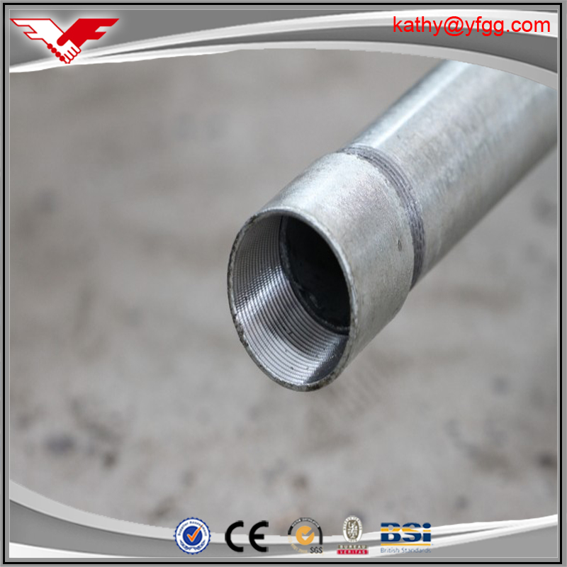 "china factory price ! 1 1/4"" inch steel gi pipe/tube metal steel gi pipe welding"