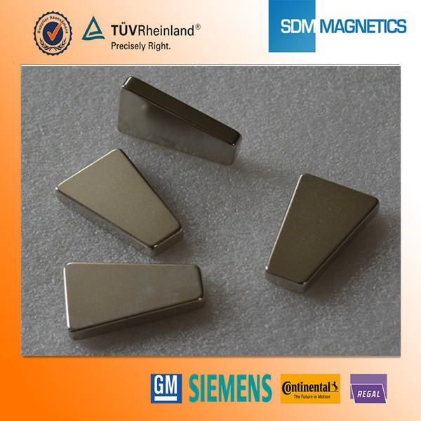 Professional Customized Triangle Neodymium Magnets