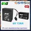 UPS Battery 6V12AH rechargeable battery for security system