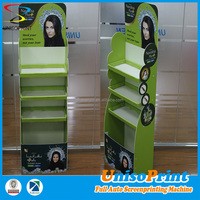 folding corrugated plastic advertising display/point of sale display stand/fruit and vegetable display stand