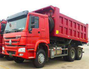 China WIdely Use 16 Cubic 10 Wheel Red 30 t Loading Weight New Truck