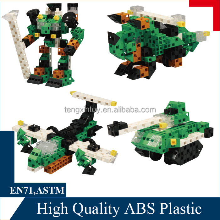 Fresh Block Set - plastic building toy for boy and girl