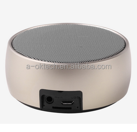 bluetooth wireless speaker for sauna music mini bluetooth speaker Metal bluetooh speaker