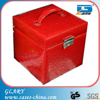 fashionable leather box jewelry