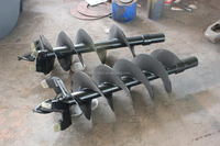 new design skid steer attachment Rock Auger for sale