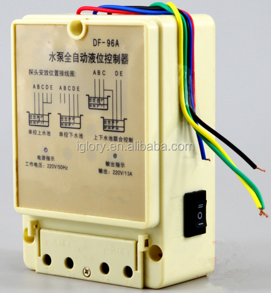 automatic water flow control Electronic water level controller