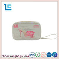 Zhaoxiang professional soft case makeup bag with custom logo direct from china