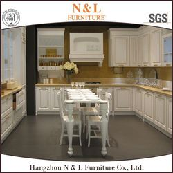 High quality hardwood full kitchen cupboard set