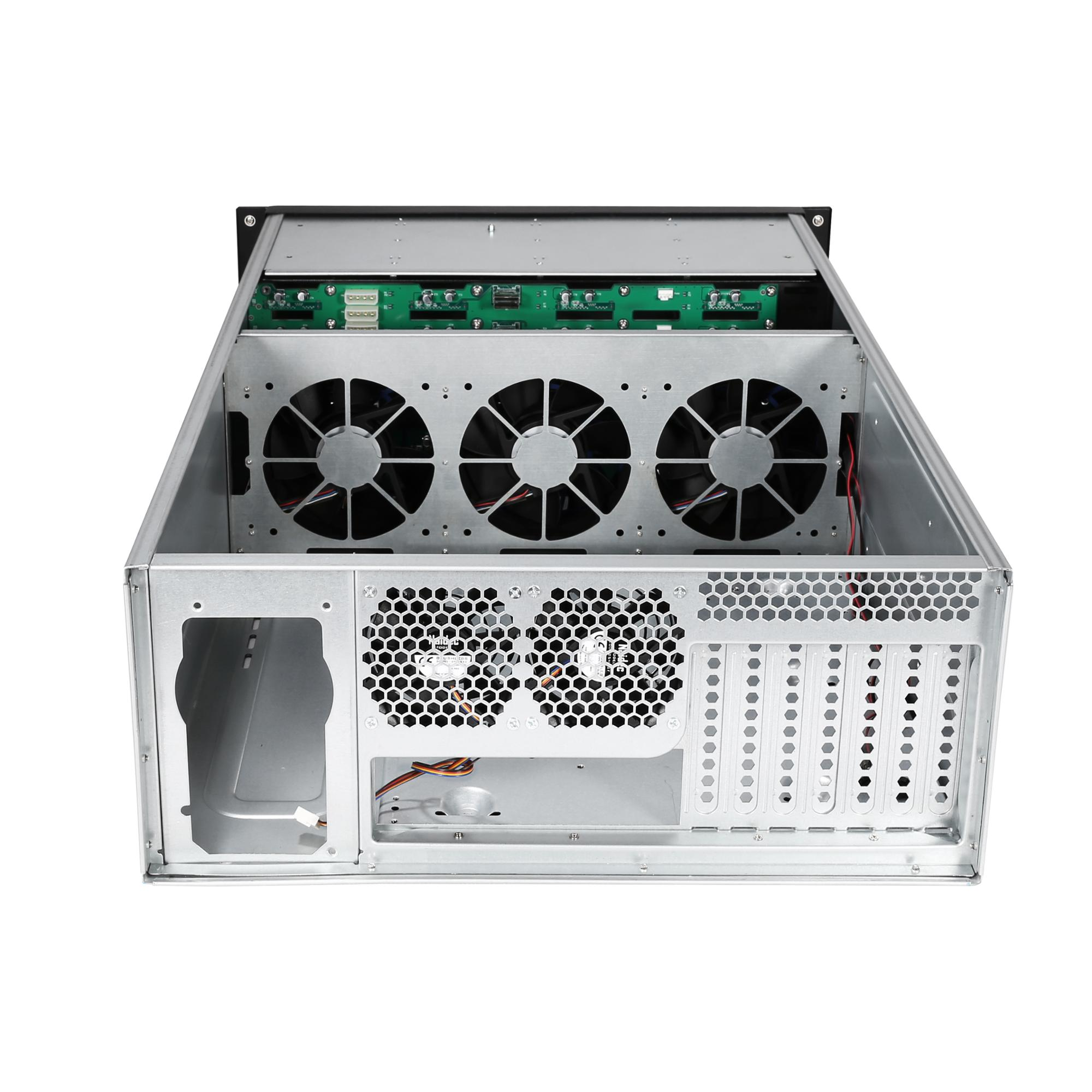 4u chassis 24 Bays IPFS Storage Server Case with 3*12038 Fans rackmount chassis