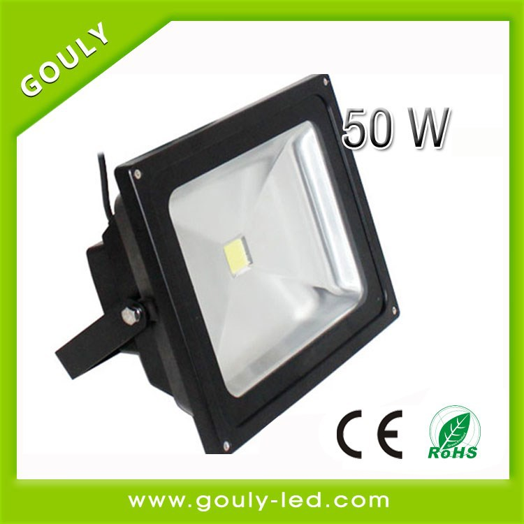 shenzhen factory Remote Control 50W RGB Waterproof LED Flood Light solar light