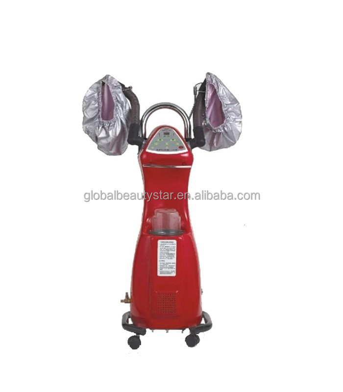 Beautystar 2015 red color mist salon equipment hair steamer