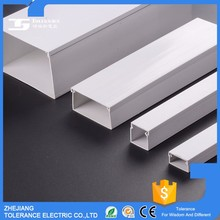 High tensile strength SGS approved decorative wiring trunking