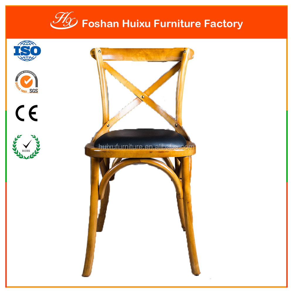 2016 New Country Design Iron Cross Back Chairs