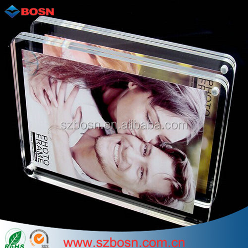 3X5, 4x6, 5X7, 8x10 Magnetic Acrylic Photo Frame with magnets