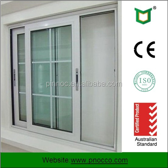 Aluminium Windows Product : Pnoc factory provide aluminium sliding window with grill