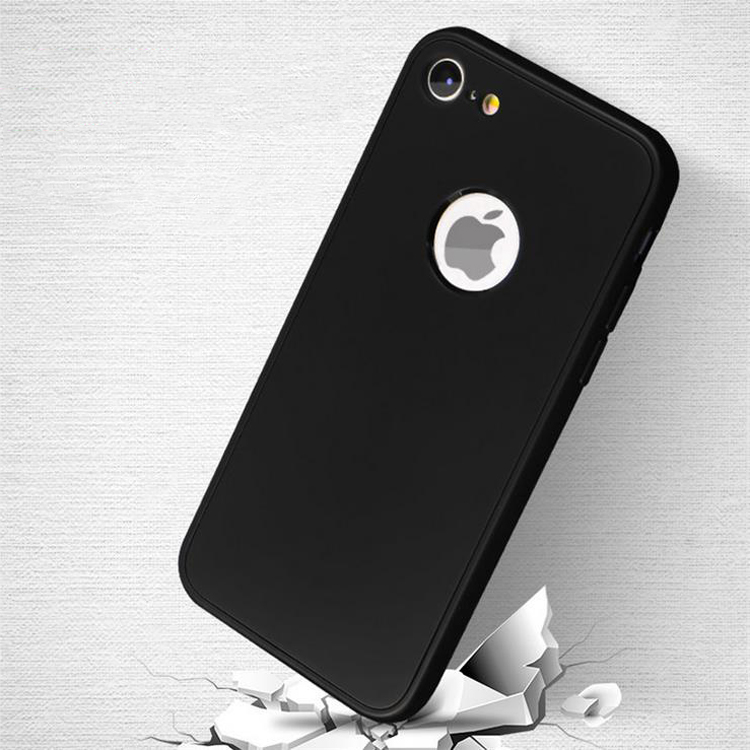 Accepted Small MOQ 360 degree full protetive and anti-shock TPU case for iphone 7 case back cover