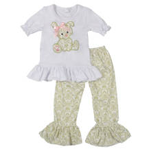2018 newest <strong>design</strong> remake boutique kids wholesale clothes set