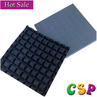 China lowest price driveway perforated rubber mats