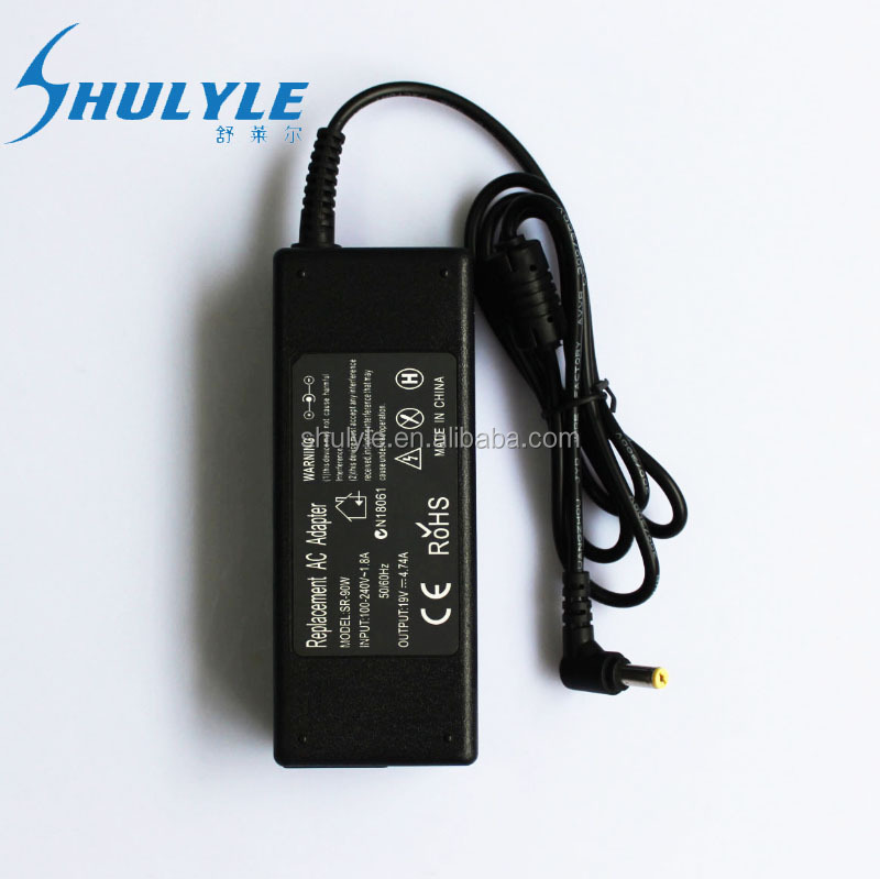AC DC Laptop Adapter For Acer 19V4.74A Laptop Computer Power Adaptor