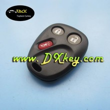 3 button car key remote covers without battery clamp for GMC GM remote key fob