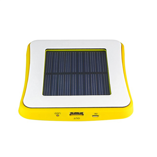New arrival super thin portable 5200mah window solar power bank