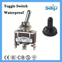 3P waterproof toggle switch on-off-on toggle switch weatherproof enclosed isolator switch