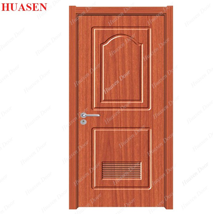 best quality wood door pvc round top door