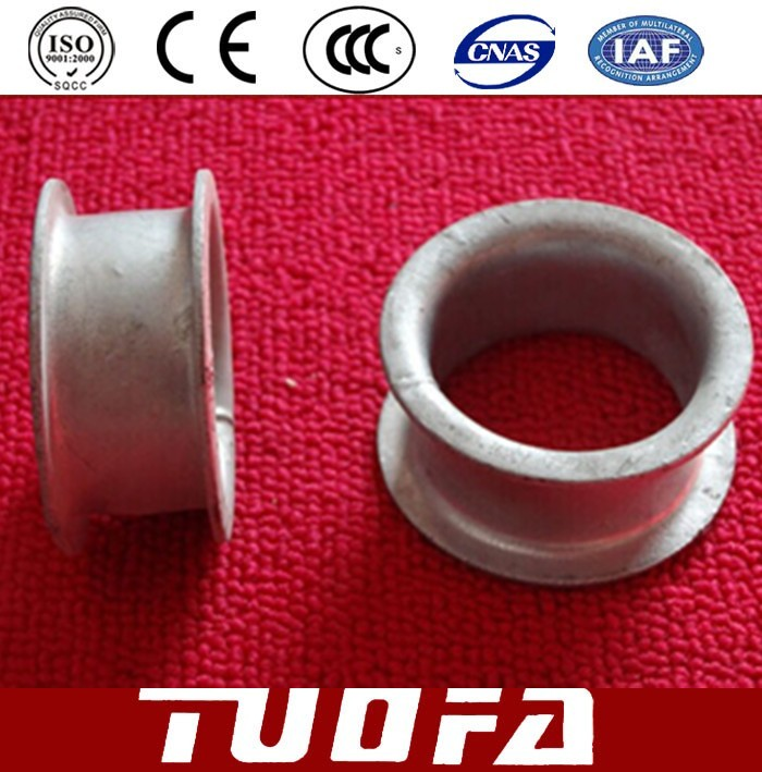 guy grips/Galvanized or aluminum clad steel Preformed guy grips dead end Clamp suspension clamp with o rings for ADSS/OPGW Cable