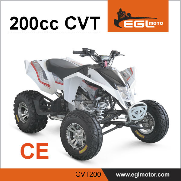Automatic 200cc CVT Engine Quad Atv