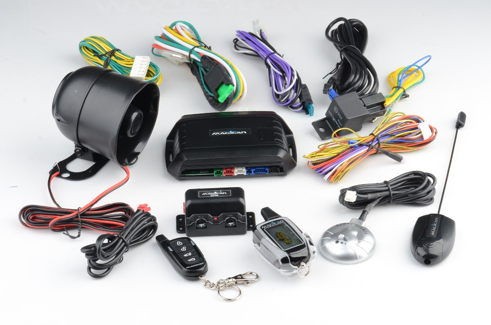 new style magicar car alarm with remote start engine car alarm system