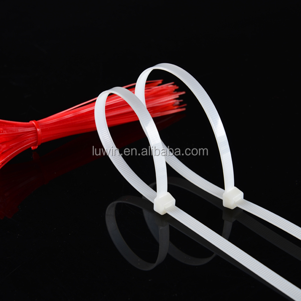 CHINA black self locking plastic clamp wire zip cable tie