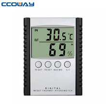 Hot thermometer hygrometer digital probe