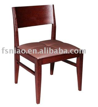 simple solid wood dining chair B829-G