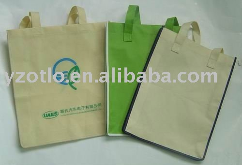 Custom Promotional PP PET Recycle Non Woven Shopping Bags for Carrefour