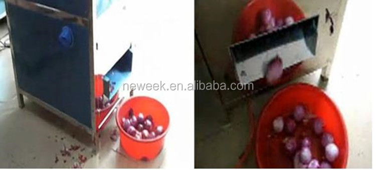 Neweek Factory price no damage small peeled onion machine